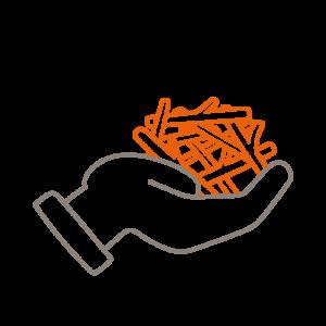 Kompostaufbereitung – Gewinnt Strukturmaterial